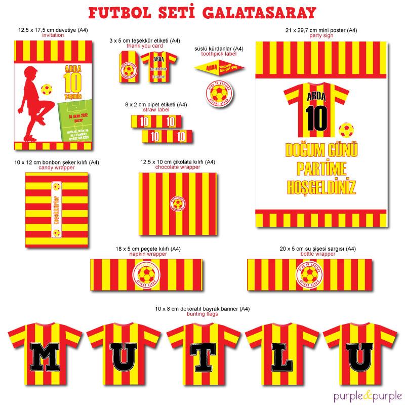 Futbol Seti Galatasaray