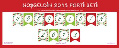 Hoşgeldin 2013 Parti Seti