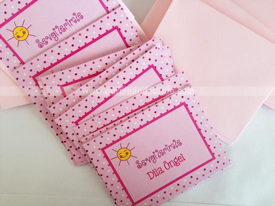 Dila ve Ela'nın hediye kartları