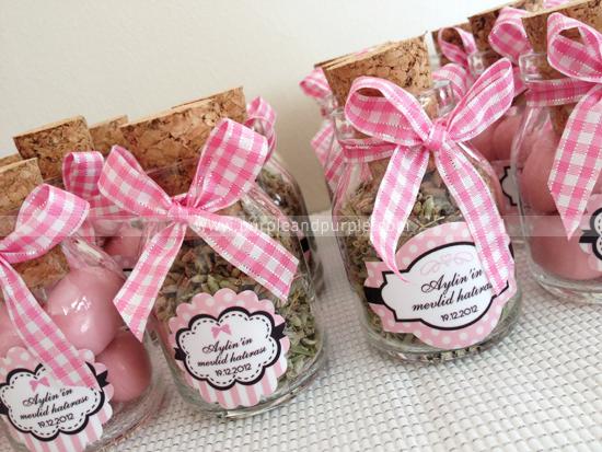 Aylin'in diş buğdayı hediyelikleri