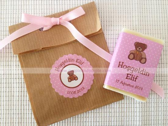 Hoşgeldin bebek hediyeliği doğal sabunlarımız