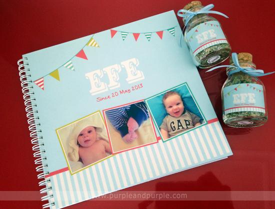 Minik Efe'ye 'Hoşgeldin Efe' hediyesi:)
