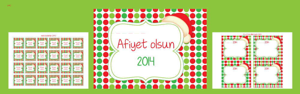 Hoşgeldin 2014 parti seti