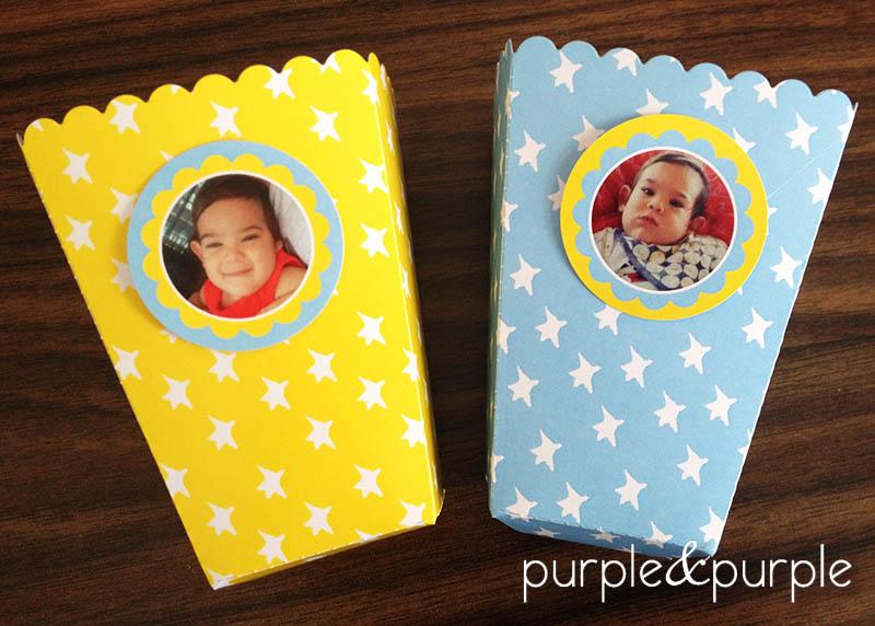 Yıldızlı Popcorn Kutuları