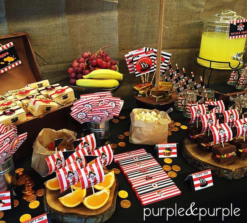 Parti Masası Yiyecekleri