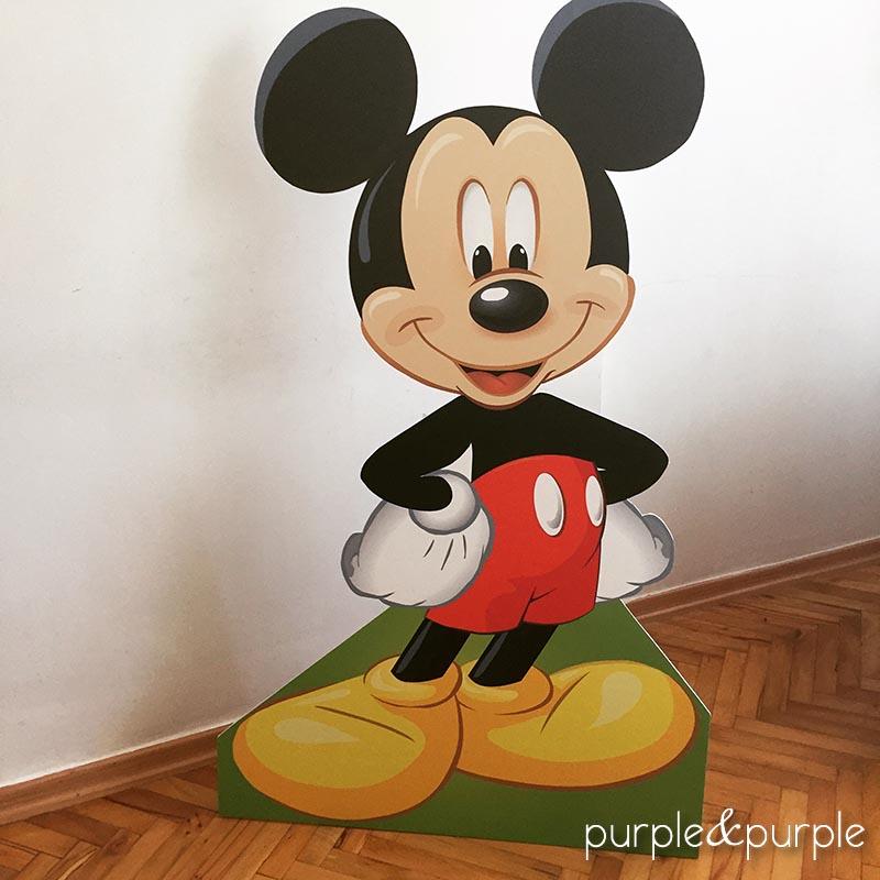 Ayaklı Mickey Mouse Panosu