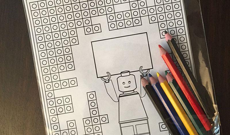 Lego Blok Boyama Sayfası