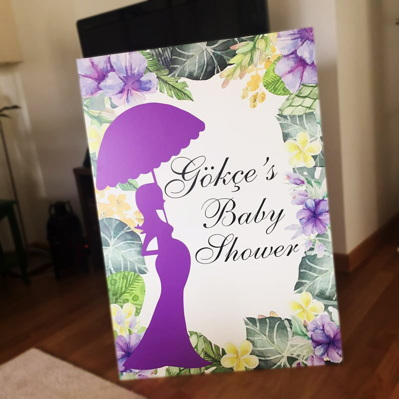 hamile kadın temalı pano